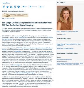 San Diego dentist, Encinitas Cosmetic Dentistry, Invisalign, dental bridges, Dr. Cathy Santone