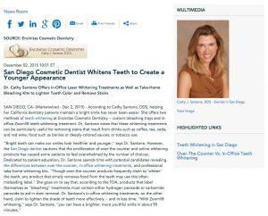 teeth whitening in san diego,encinitas dentist,zoom whitening,professional take home teeth whitening